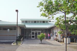 Kailua-Kona Public Library. File Kailua-Kona Public Library photo.