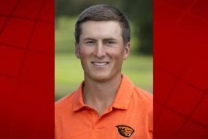 Oregon State golfer Conner Kumpula. Courtesy: Oregon State Athletics.