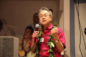 Subaru Director Dr. Nobuo Arimoto. 'Imiloa Astronomy Center image.