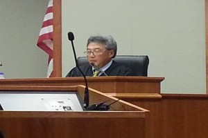 Circuit Court Judge Greg Nakamura. File photo by Dave Smith.