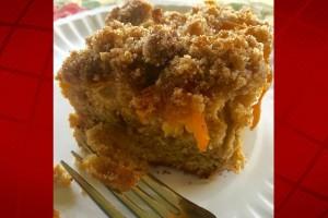 Kumquat Coffee Cake. Photo credit: Kristin Frost Albrecht.