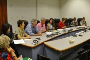 Kupuna Caucus 2016 Legislative Package news conference at the State Capitol. Courtesy of Senate Communications.