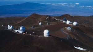 Summit of Mauna Kea. Univesity of Hawai'i photo.