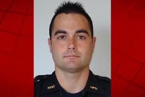 Officer Nicholas McDaniel. HPD photo.