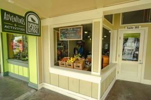A view of Hawai'i Forest and Trail's new storefront in Downtown Hilo. Hawai'i Forest and Trail photo.