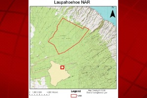 Laupahoehoe National Area Reserve. DLNR image.