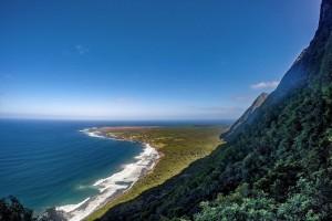 Photo of Kalaupapa peninsula, Kalaupapa National Historical Park, courtesy of Tylor Tanaka.