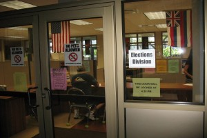 The Hawaii County Office of Elections in Hilo. File photo.