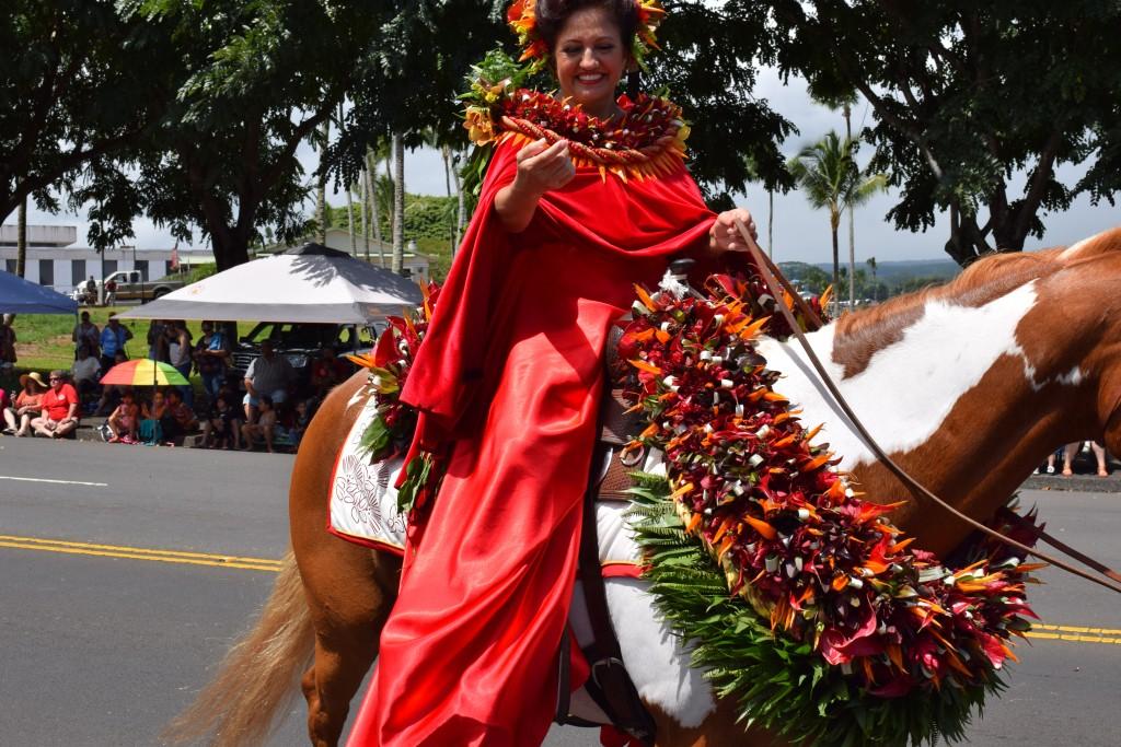 Merrie Monarch Royal Parade 2016. Photo credit: Jamilia Epping.