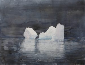 "Emma Stibbon's ""Night Bergs."" Courtesy photo."