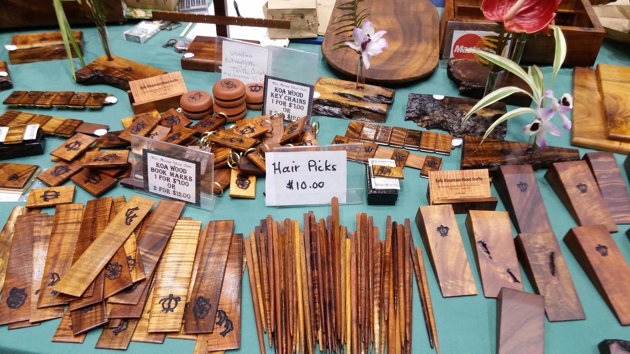 Kolo Mountain Wood Crafts. Photo credit: Marla Walters.