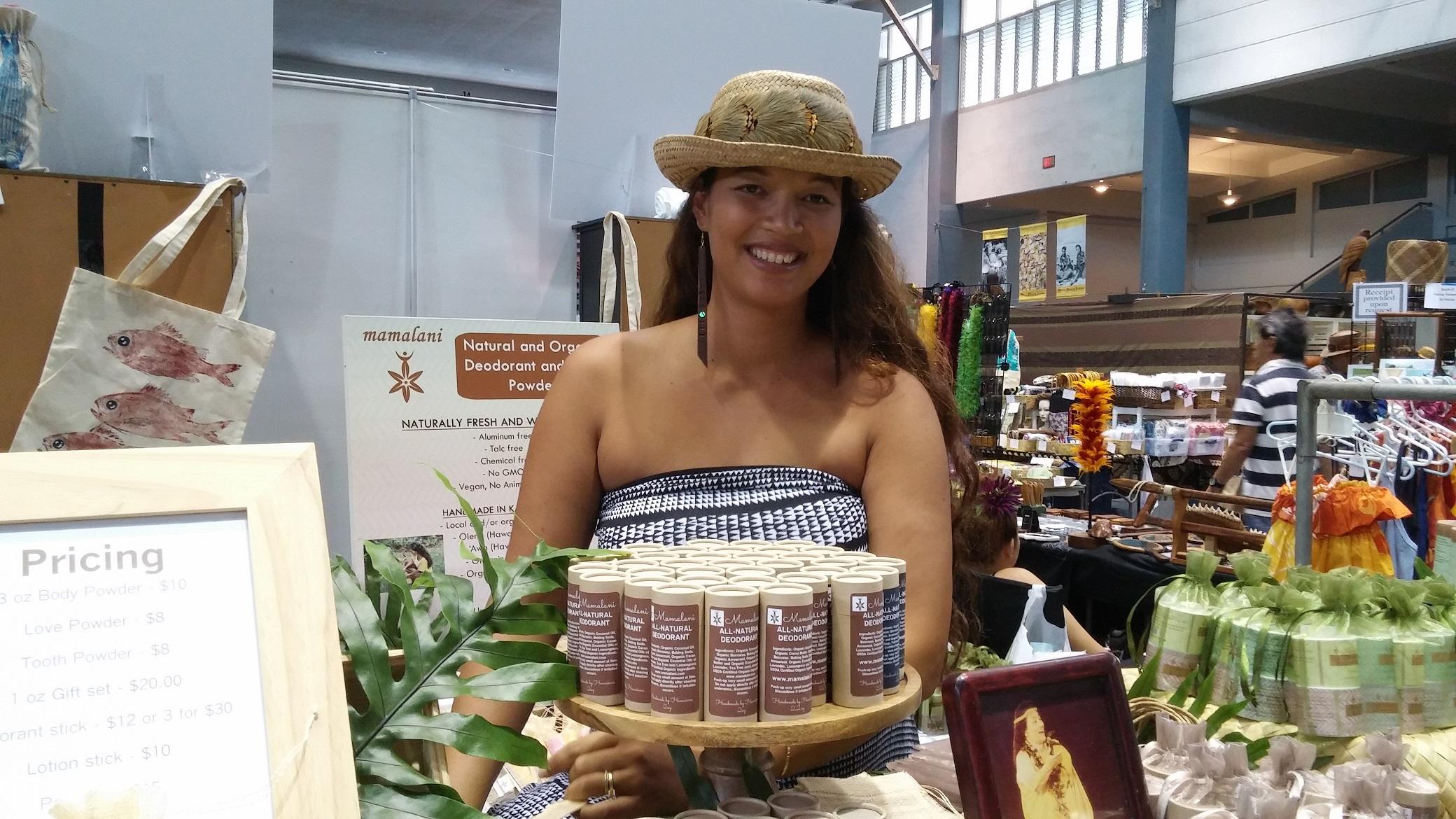 Mamalani Natural Body Products. Photo credit: Marla Walters.