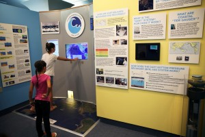 Visitors today to the Pacific Tsunami Museum could experience the newly renovated Science Room, which includes a new Tsunami Warning Center Simulation. Courtesy photo.