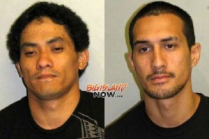 Paul Alisa and Jesse Campbell. HPD photos.