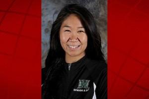 University of Hawai'i swimmer Madi Uekawa. UH photo.