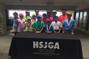 Hawai'i State Junior Golf Association photo.