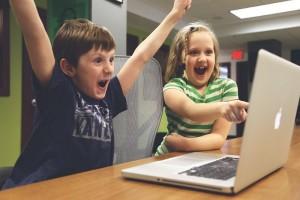 children playing pixabay