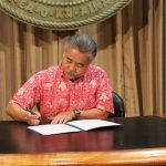 Governor Ige Signs Emergency Proclamation in Wake of Eruption