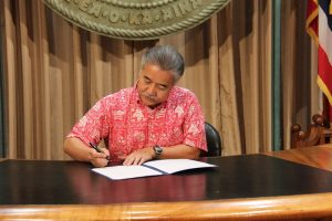 Governor David Ige. Photo courtesy of the Office of Governor David Ige.