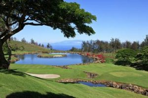 The par 3, 17th hole at Big Island Country Club. File courtesy photo by Arsenio Lopez.