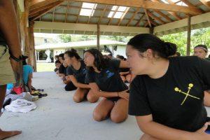 Students at Ka ʻUmeke Kāʻeo Public Charter School. Courtesy file photo.