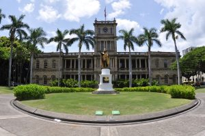 Aliiolani Hale. Wikki photo.