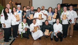 Gala and student winners with judges at the Big Island Chocolate Festival. Photo by Kirk Shorte Photography.