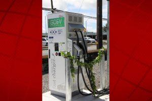 Hawai'i Electric Light courtesy photo of Hilo EV Fast Charge Station.