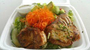 Fish Salad. Photo credit:Kay Rivera