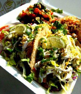 Fish Tacos. Photo credit:Kay Rivera