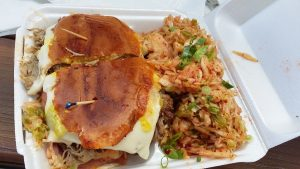 Hawbano sandwich. Photo credit:Kay Rivera