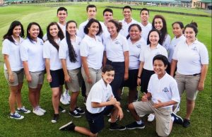 The cast for Hā'upu, the Hawaiian language opera presented by Kamehameha Schools Hawai'i. Courtesy photo.