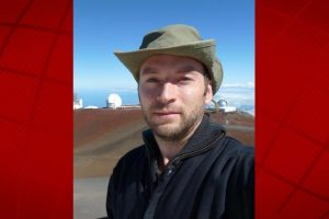 Luke McKay. Photo courtesy of 'Imiloa Astronomy Center.