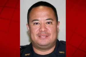 Officer Mike Thompson. HPD photo.