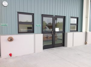 Front entrance of the new facility on Akahana St. Photo courtesy the Department of Agriculture.