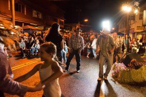 Crowds gathered during last year's Honoka'a Western Week. Photo courtesy: Sarah Anderson.