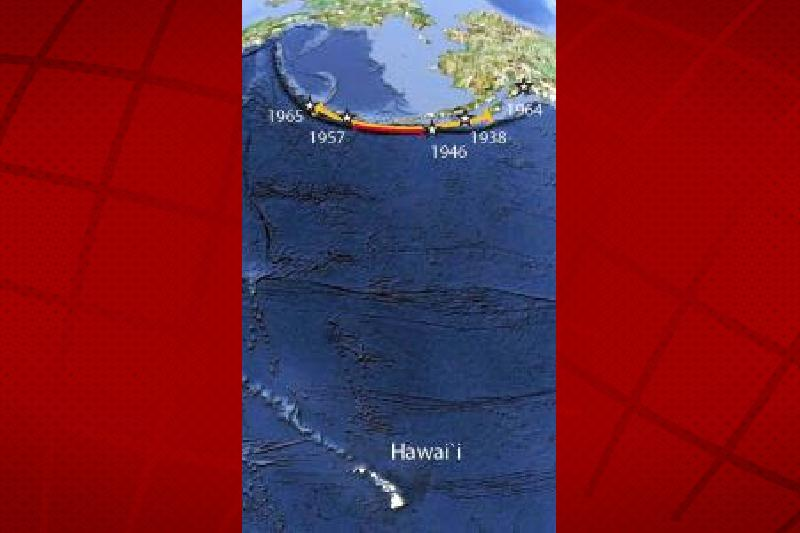 Study: Prediction for Mega-Earthquake in the Aleutians | Big Island Now