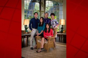 Governor David Ige and First Lady Dawn Ige have three children, Lauren, Amy and Matthew. Office of Governor David Ige photo.