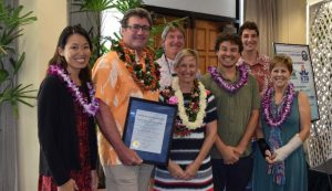 Rob and Cindy, Co-founders of Hawai'i Forest and Trail were recently awarded SBA honors as Hawai'i County Small Business Person of the Year. Hawai'i Forest and Trail courtesy photo.