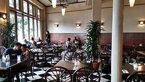 Café Pesto's dining room. Photo credit: Marla Walters