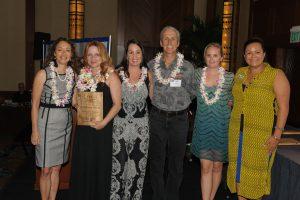 Pualu Award photo.