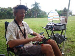 Hawaii Drone Racer Aaron Kotaska. Photo: Richard Molina