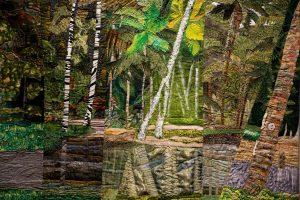 """""""Malama-Ki Collaborative"""" by Glorianne Garza. Volcano Art Center photo."""