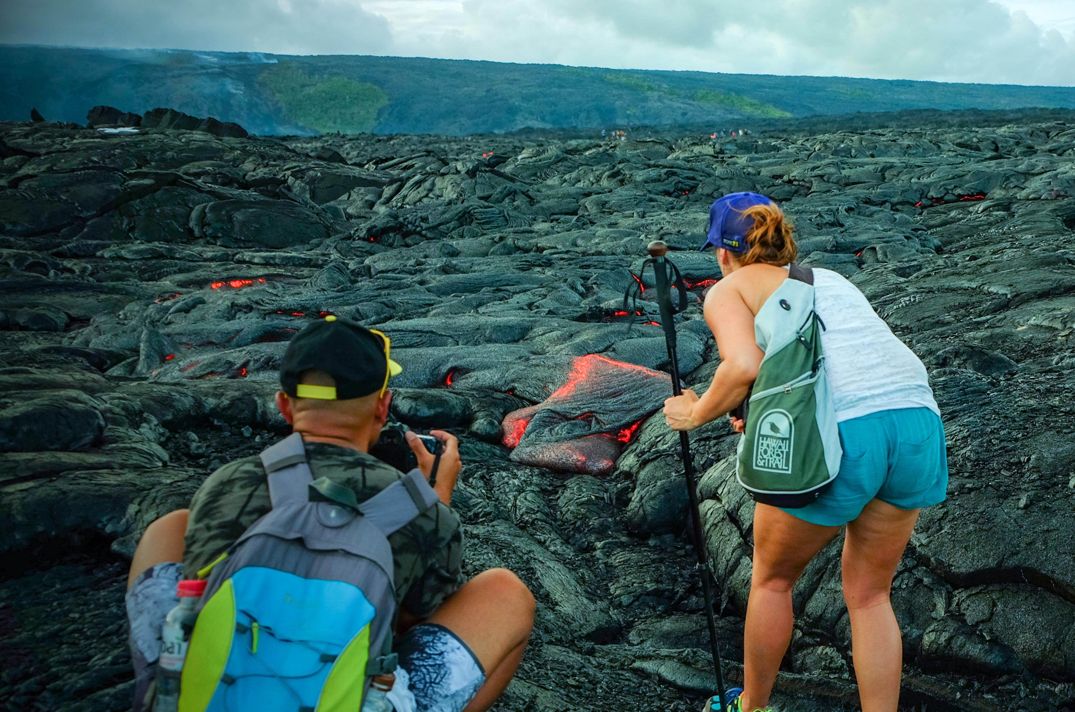 Big Island Hawaii Volcano Hike