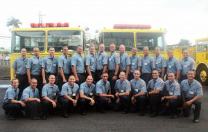 The 44th Fire Fighter Recruit Class graduated on Friday, June 10, 2016. Courtesy photo.