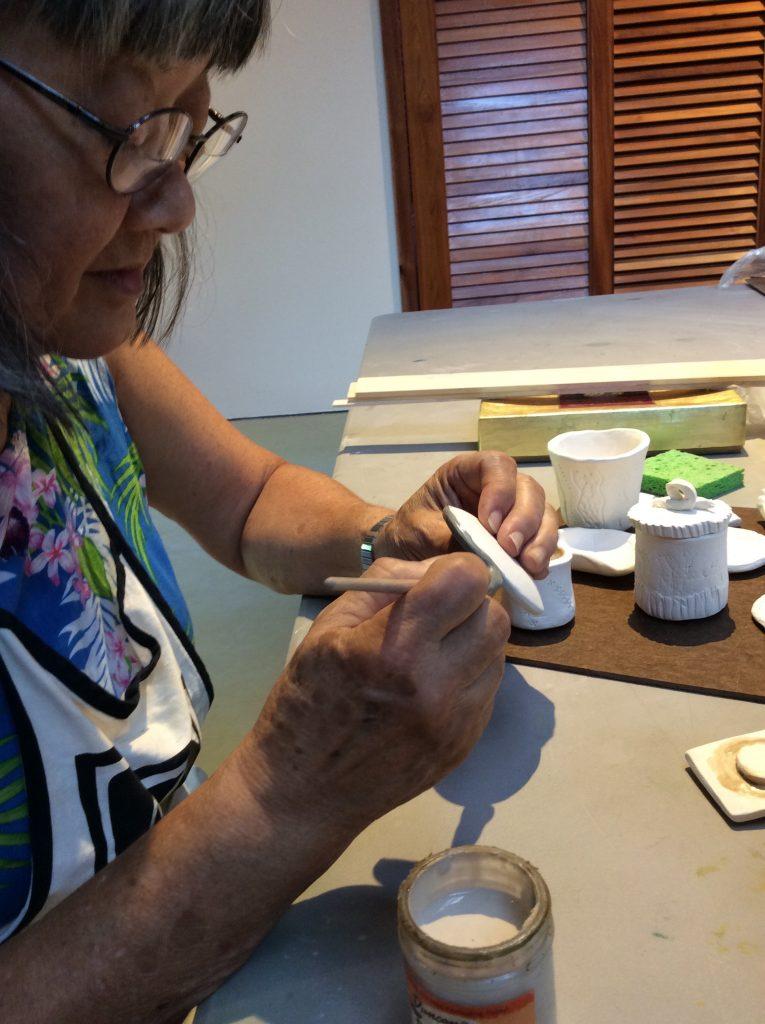 Handbuilding with Clay workshop. Courtesy of Volcano Art Center