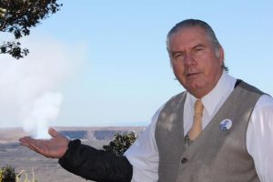"Dick Hershberger will portray Dr. Thomas Jaggar in ""Kilauea 1916; A Centennial Celebration of KMC & HVNP."" Courtesy photo."
