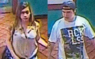 Suspects captured in surveillance photos.