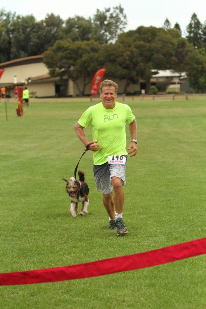 first dog w/ human Ricci Bezona 22nd place overall