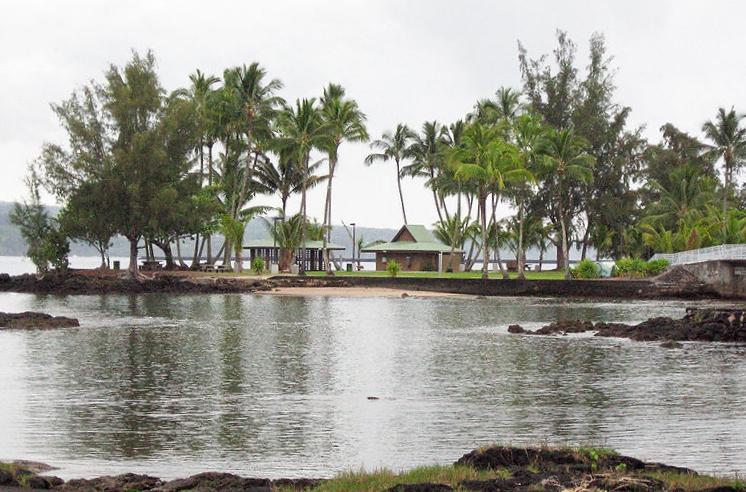 Moku Ola, Coconut Island, Hilo.